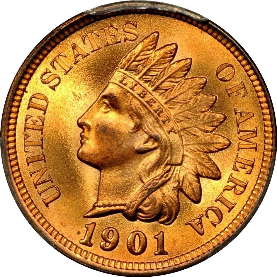 GFRC Open Set Registry - Winesteven 1864-1909 Indian Bronze 1C